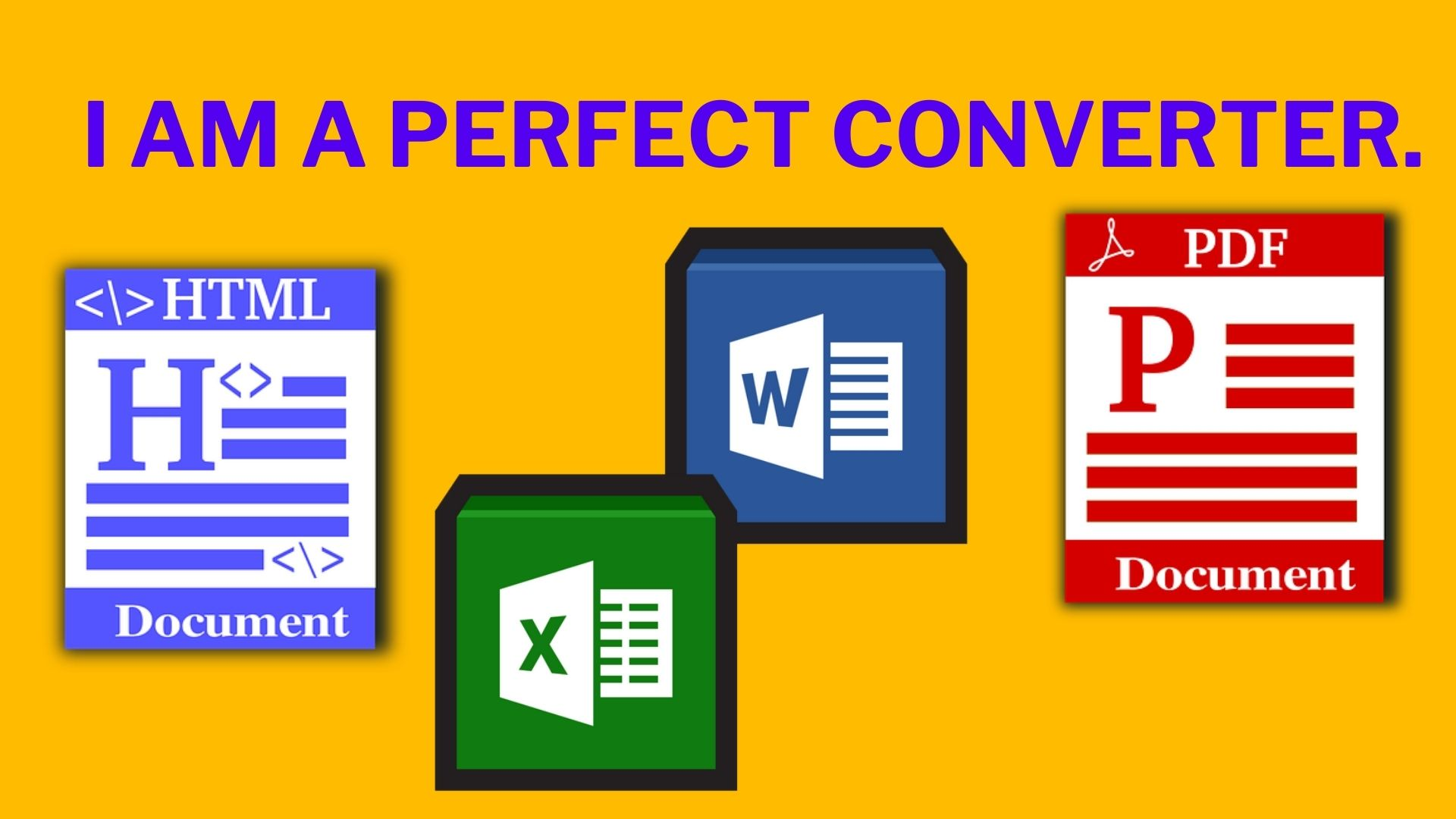 I will Convert PDF to Excel,  Word,  Text and any format