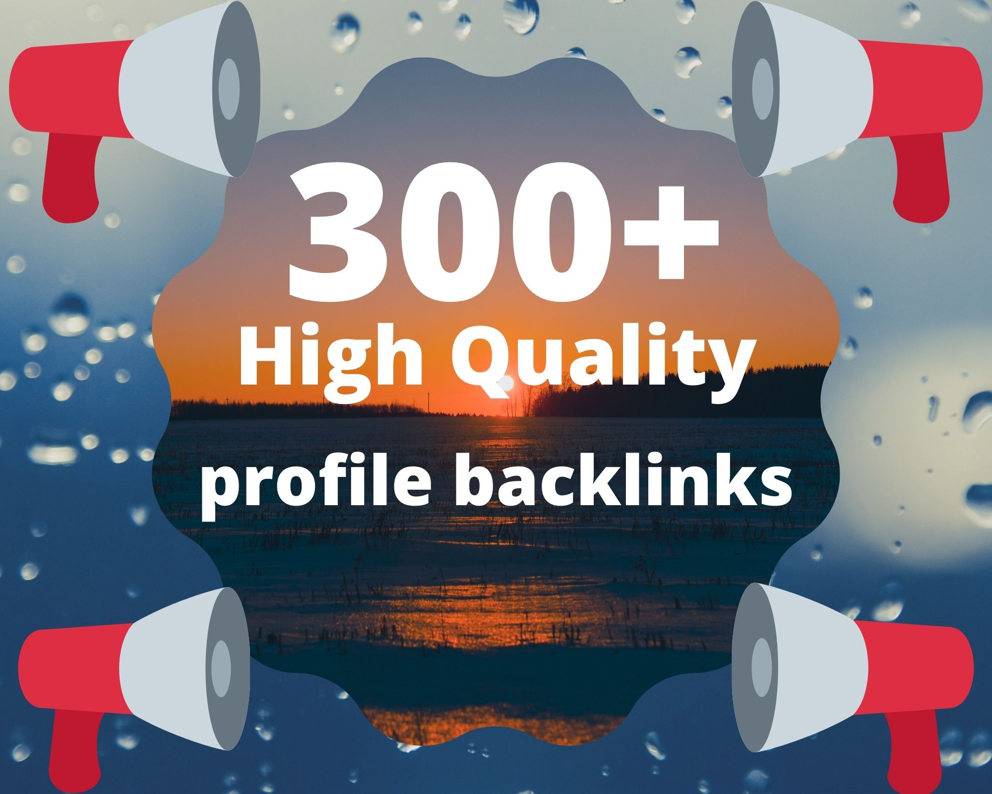I will do150 off page seo, profile backlinks, link building