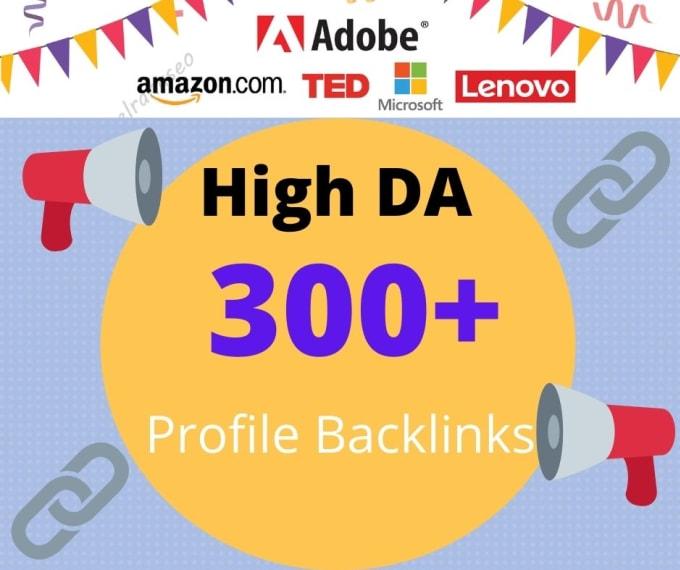 I will provide140 HQ social media profile seo backlinks, link building