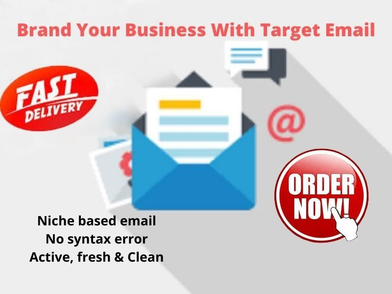 I will make email list on targeted niche or country for you