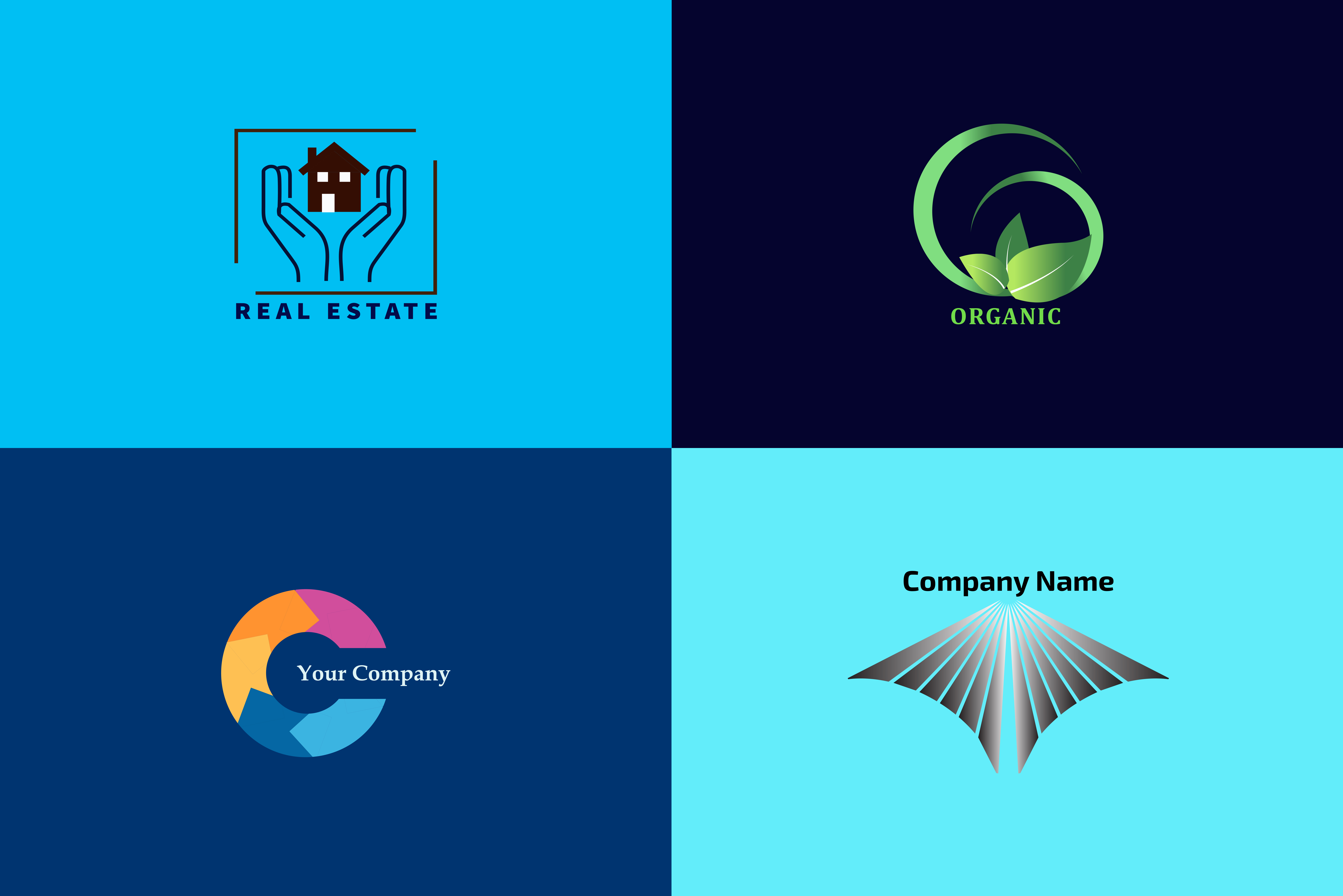 I will design simple creative and minimalist logo for your business