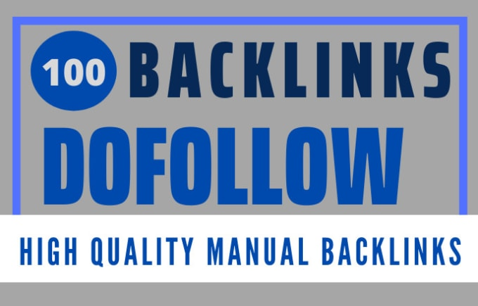 I will make 100 high authority high DA seo dofollow backlinks link building