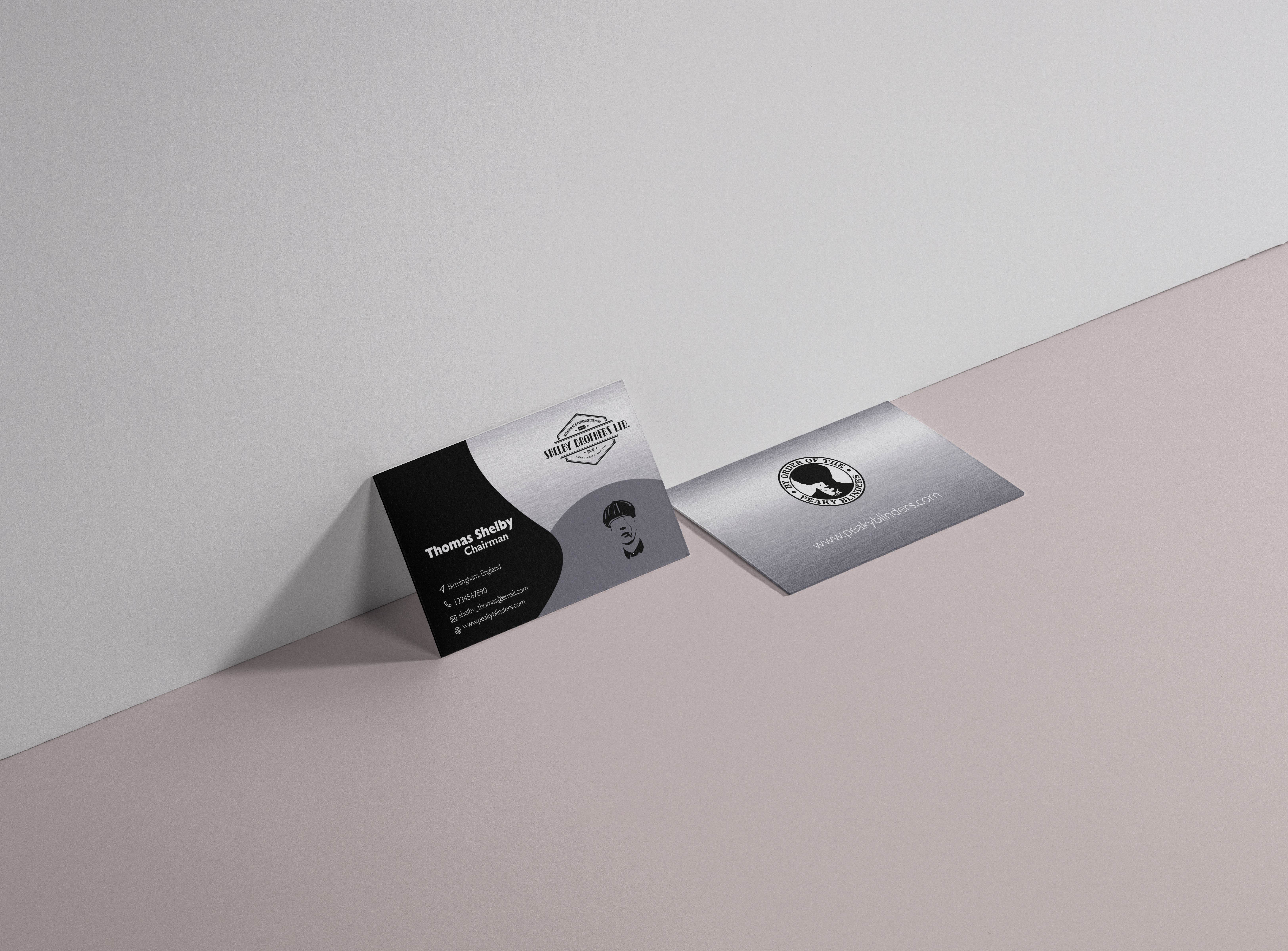 I will design modern, aesthetic, unique and premium business cards.