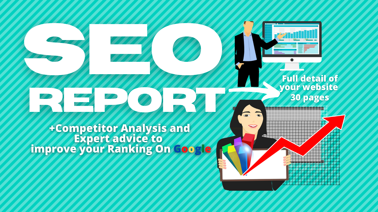 I will write seo analysis report for your website and i will search high search keywords for your w