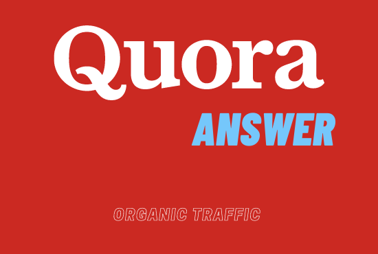 Provide 1 High Quality Quora Answer By Quality Backlink