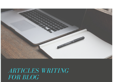 I will write qualityful SEO articles for blog post and web content