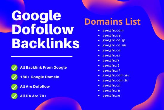 I will provide 150 google do follow backlinks for any niche
