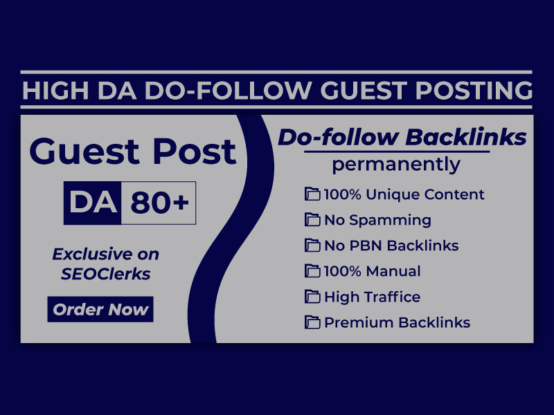 I will do high da guest posting on the google news site