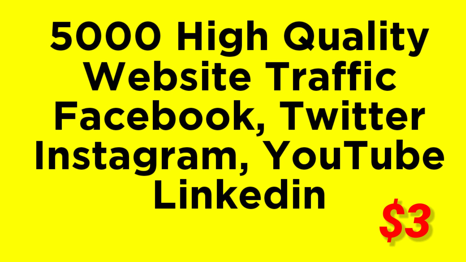 Real HQ 5000 + human worldwide website traffic
