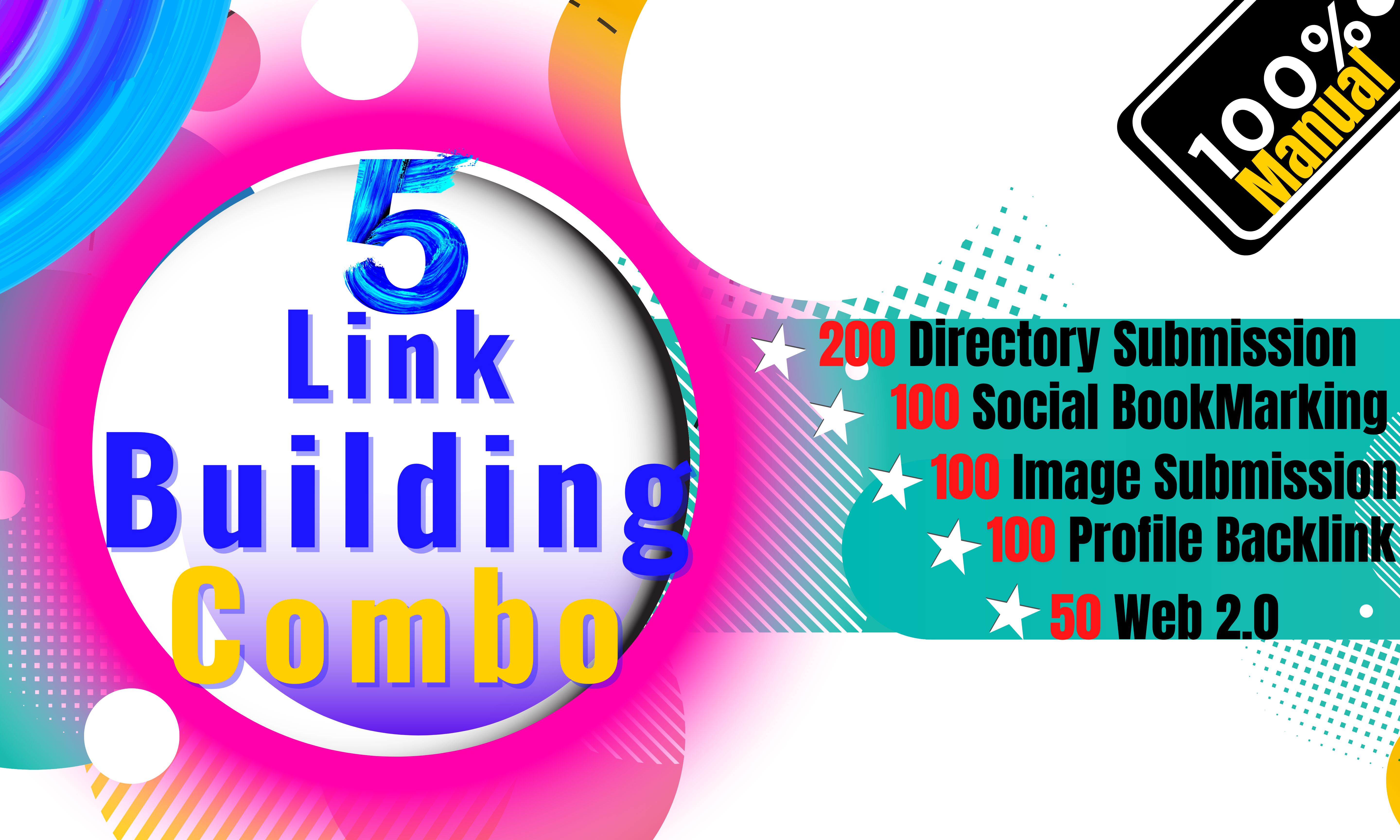 I Will Do Manual 200Directory,  100 Image Submission,  Social-Bookmarking,  Profile BackLink & 50Web2.0