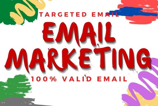 Email Marketing for Find Targeted 50k Active Email List