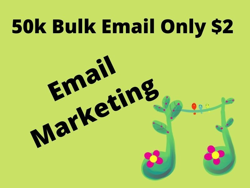 50k Bulk Email List for Email Marketing