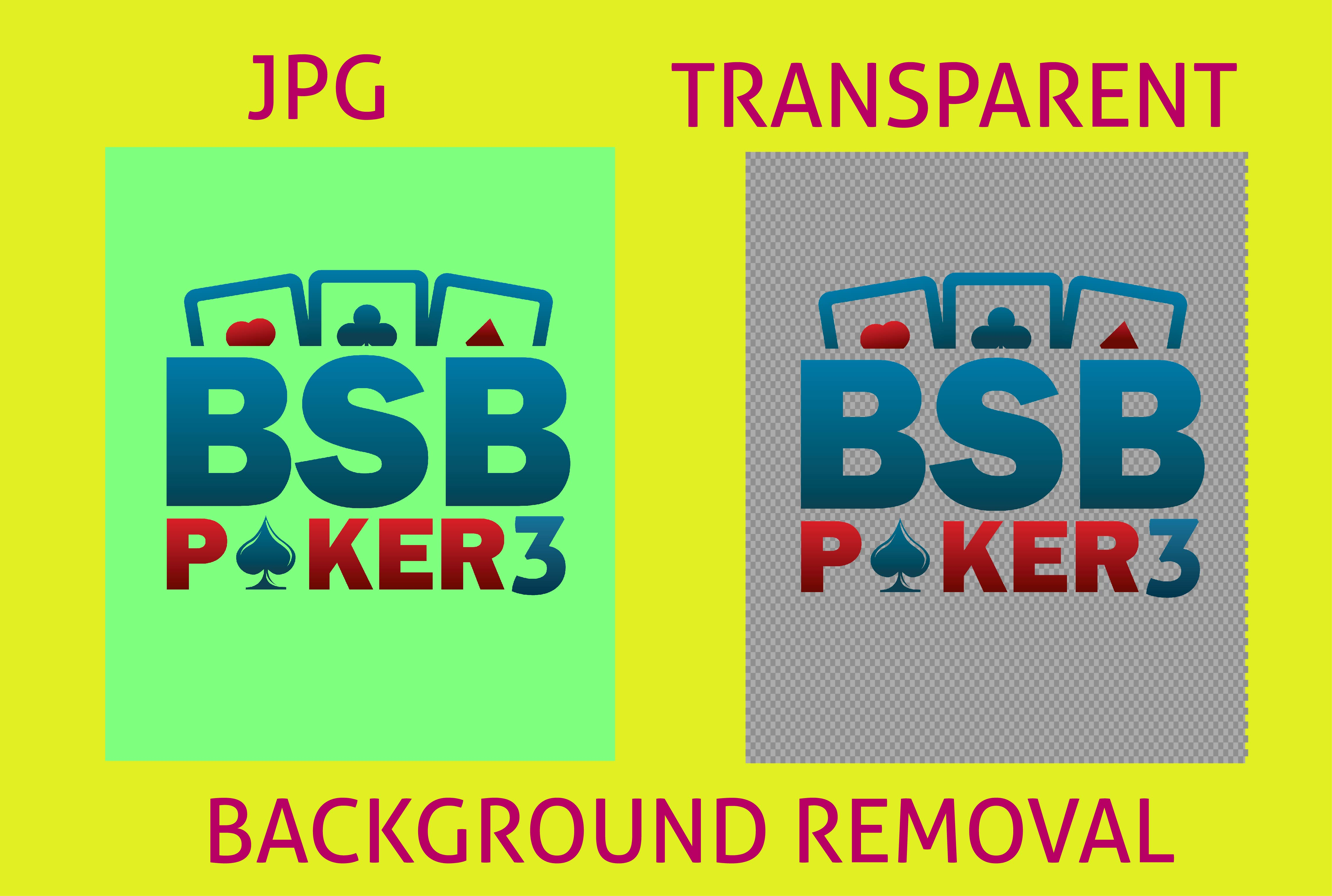 I will convert JPG. PDF to transparent png