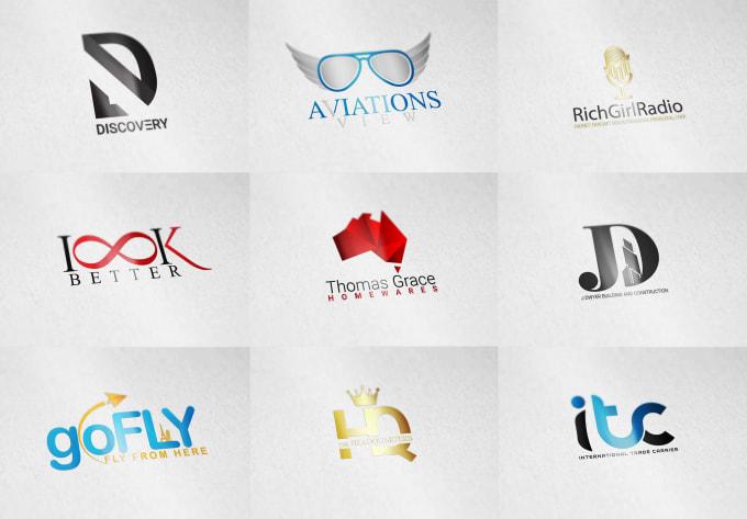 I will do professionally unique business logo design