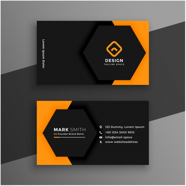 professional business card design within 7 hours