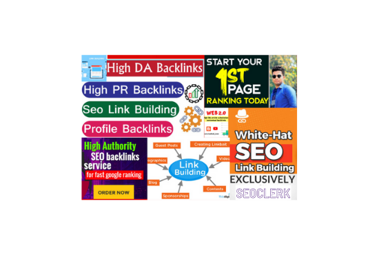 I will create contextual off page SEO backlinks on high DA