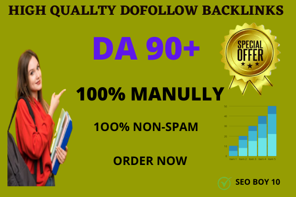 i will do high quality DA 35 dofollow banklink service for you for