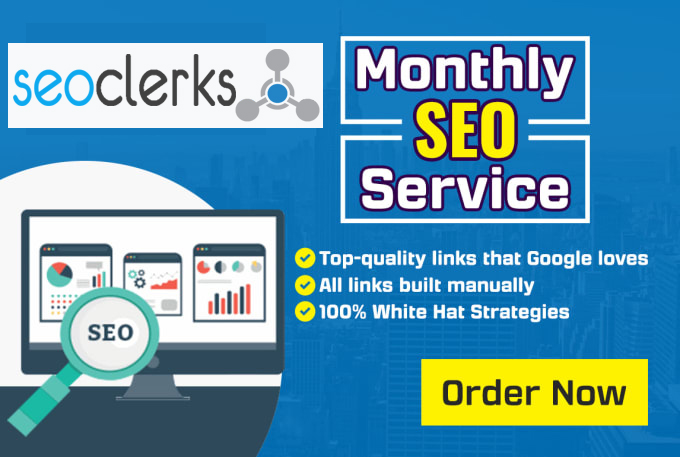I will manage SEO for your website with blogger outreach for high quality links