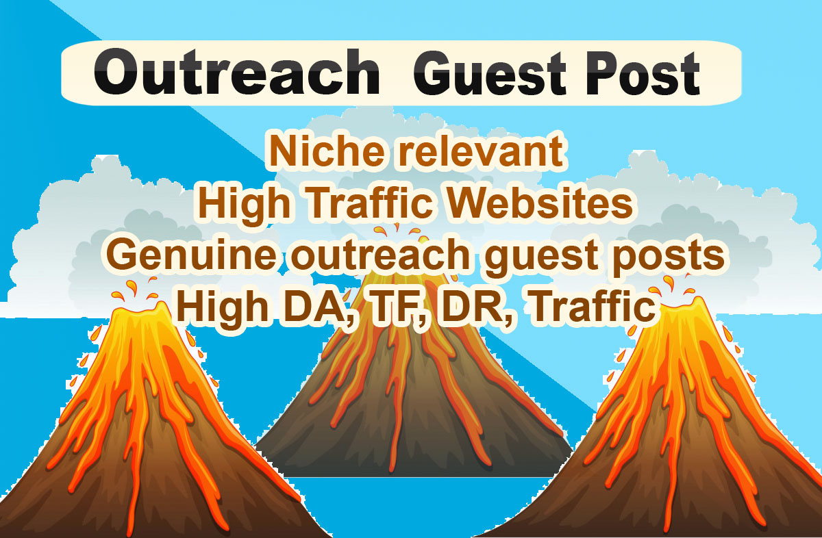 Flurry Outreach - Outreach Guest Post Backlinks on Niche relevant real Website