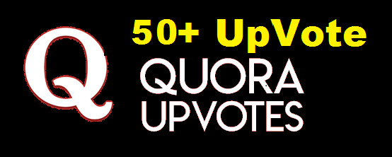 Send High Quality 50+ Quora UpVote Fast Delivery Within from worldwide people