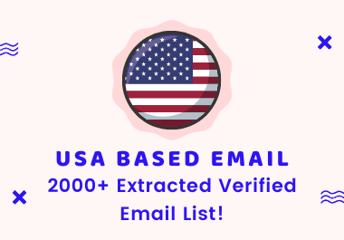 I will provide a verified Bulk USA email list