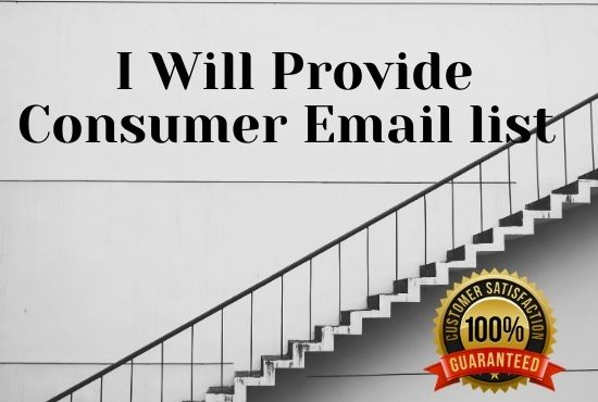 I will Provide you 8 million consumer email list USA