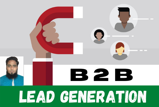 I will do b2b targeted lead generation for you