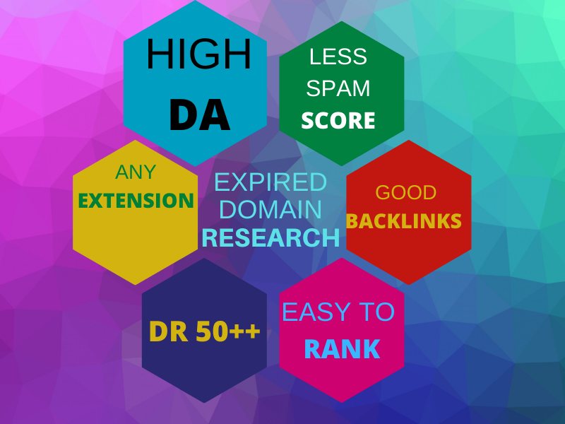 I will do high authority expired domain research