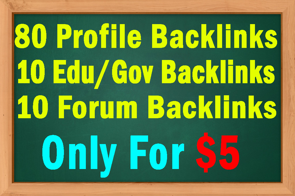 100 High DA 60+ SEO backlinks with Education and Forum Backlinks Bonus Manually