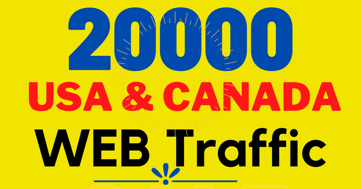 5000+ nonstop USA and CANADA keyword Targeted web traffic to your website