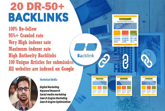 20 powerful domain authority do-follow backlinks
