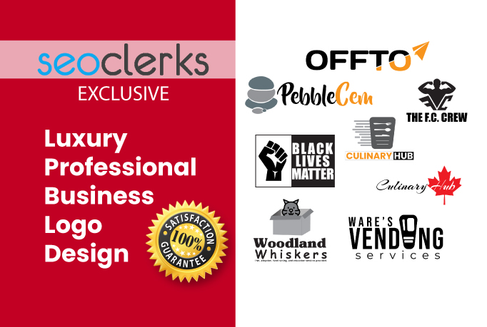 I Will Create Luxury Professional Business Logo Design.