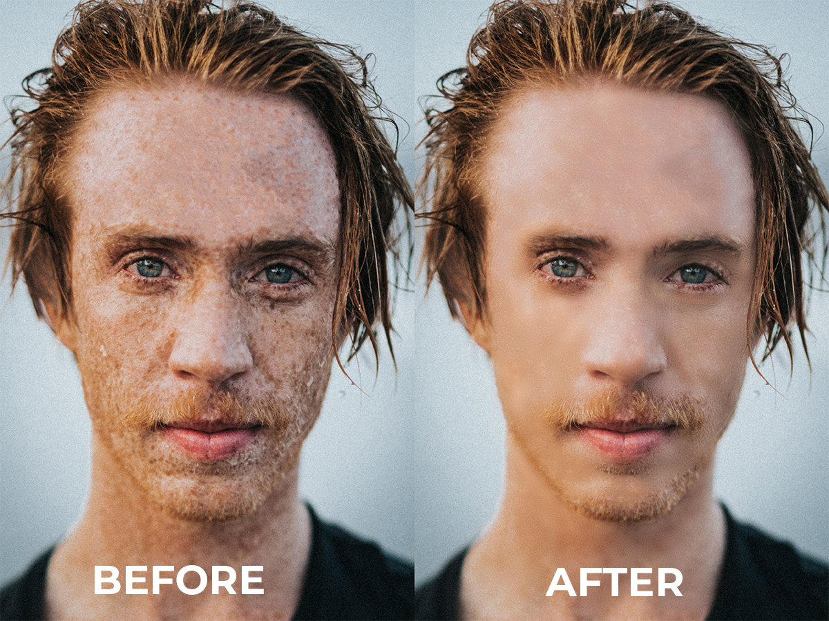 I will do high-end image retouching and editing.