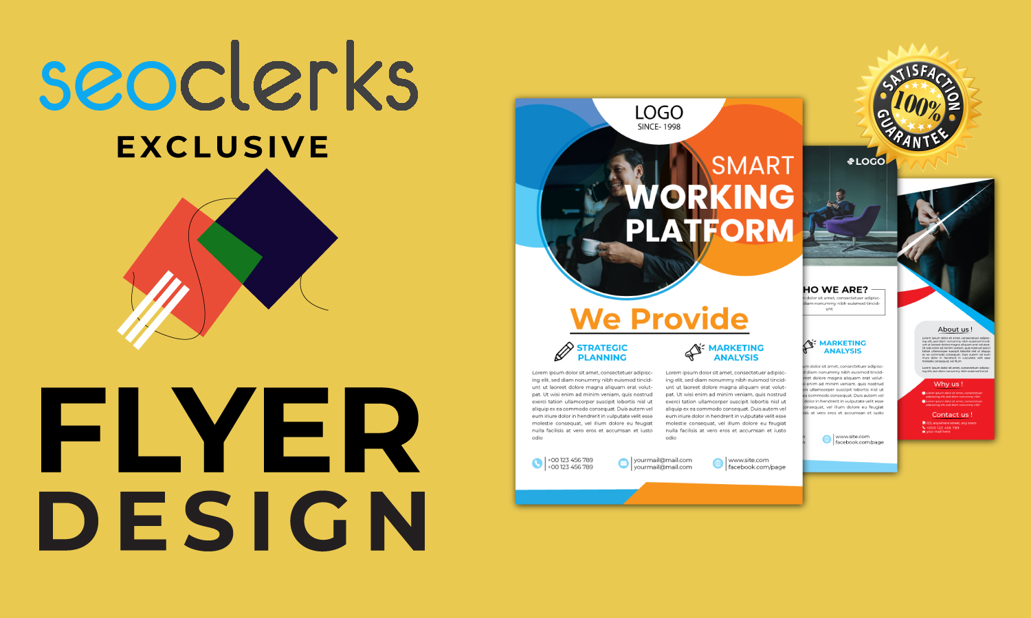 I will design flyers and business cards for your company.