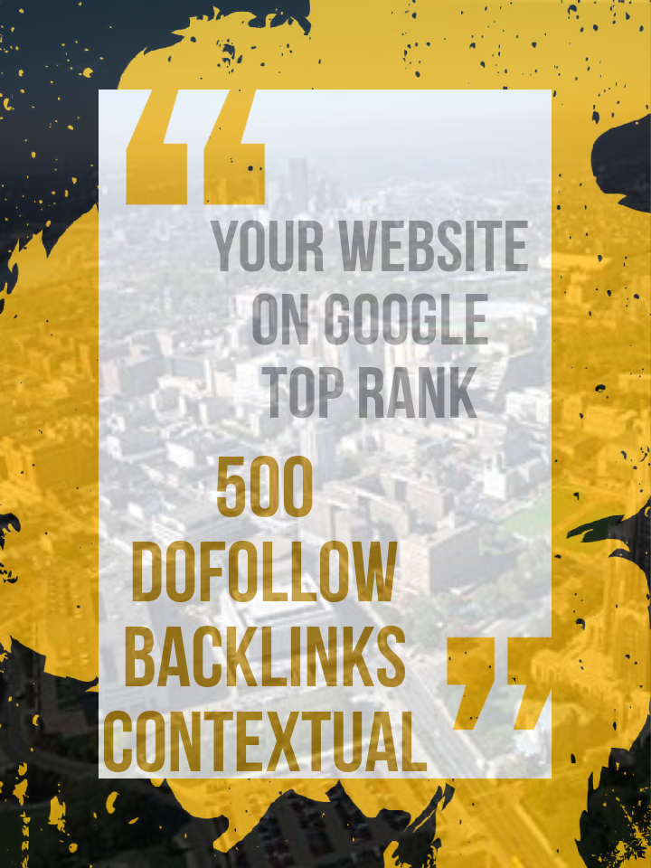 Do-Follow Backlinks Contextual