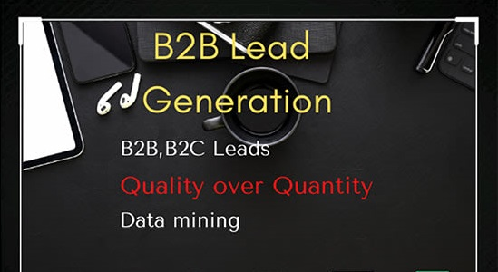 I will collect 50 B2B lead for you