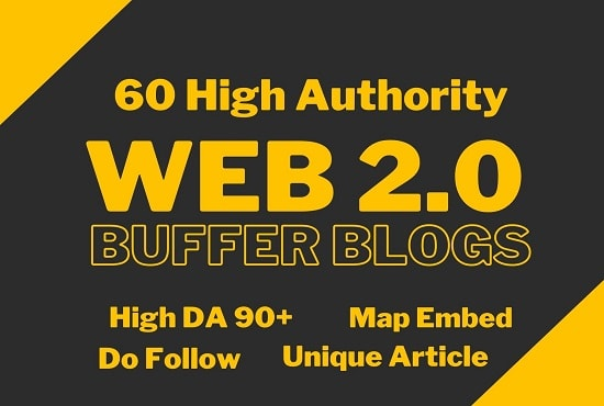 I will build high authority web 2.0 blogs