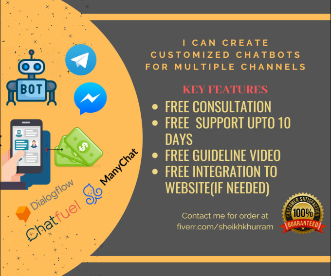 Best chat for facebook messenger,  website using manychat