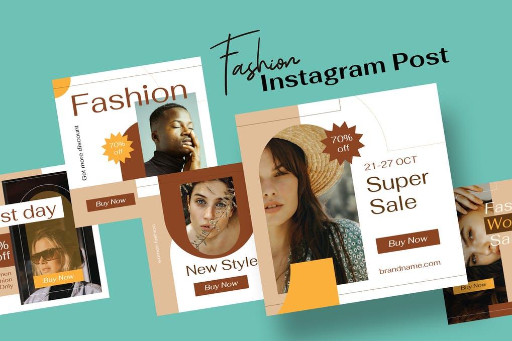 I will design premium quality Instagram post