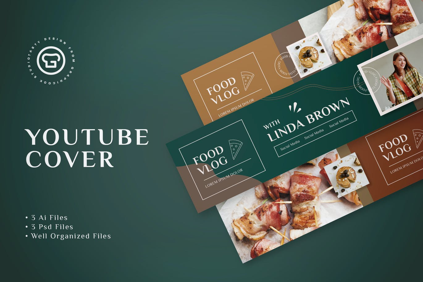 I will design an outstanding YouTube Banner or Cover Design