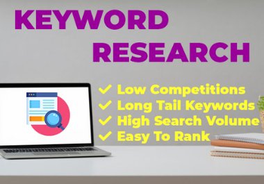 I will do best SEO keyword research for your website or niche