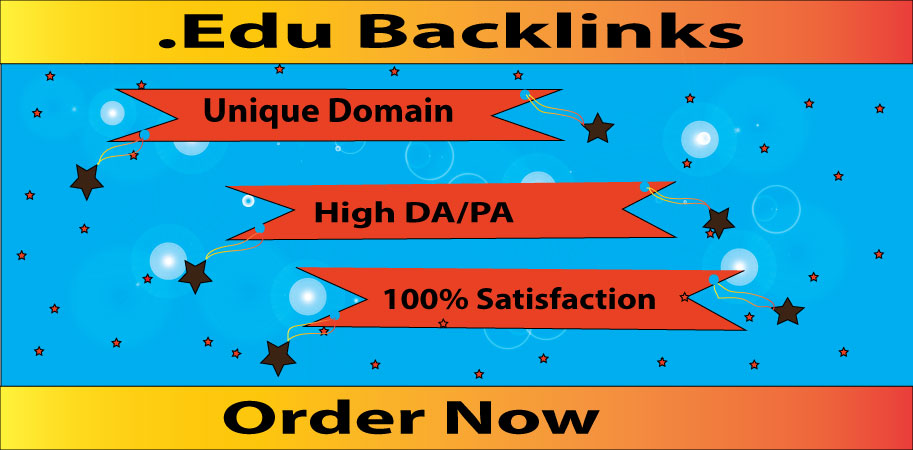 I will do 10+ Edu Gov High DA SEO Backlinks,  Link building