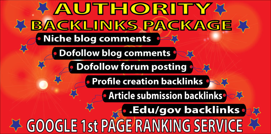 Rank Your Website on Google 1st Page with Manual SEO Linkbuilding Service