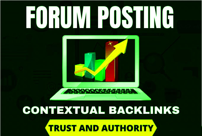 I will provide 40+ high da forum posting backlinks