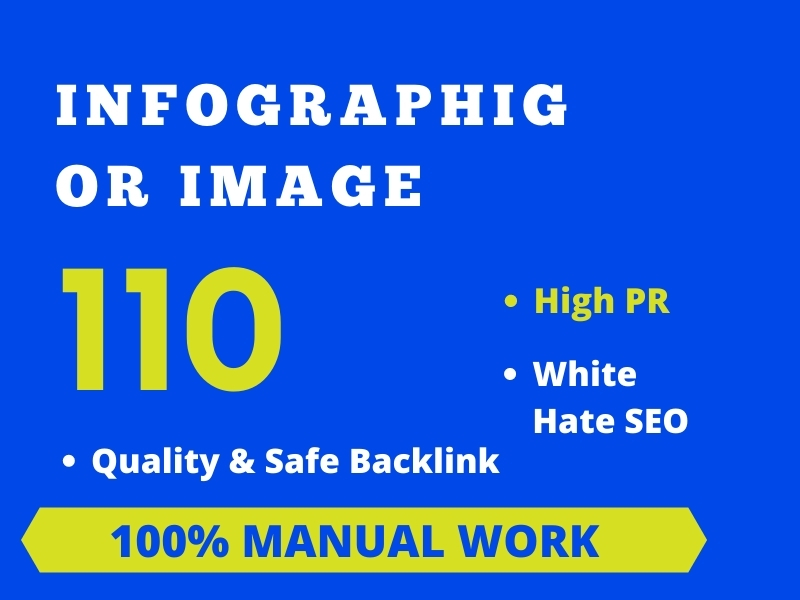 I will do 100 infographics or image submission to high pr photo-sharing sites.