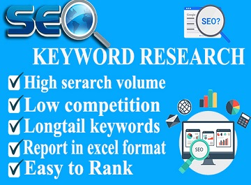 do SEO keyword research to rank your website