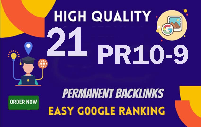 Manully Do 21 PR9 Authority Backlinks Helps To Get Google 1st Page
