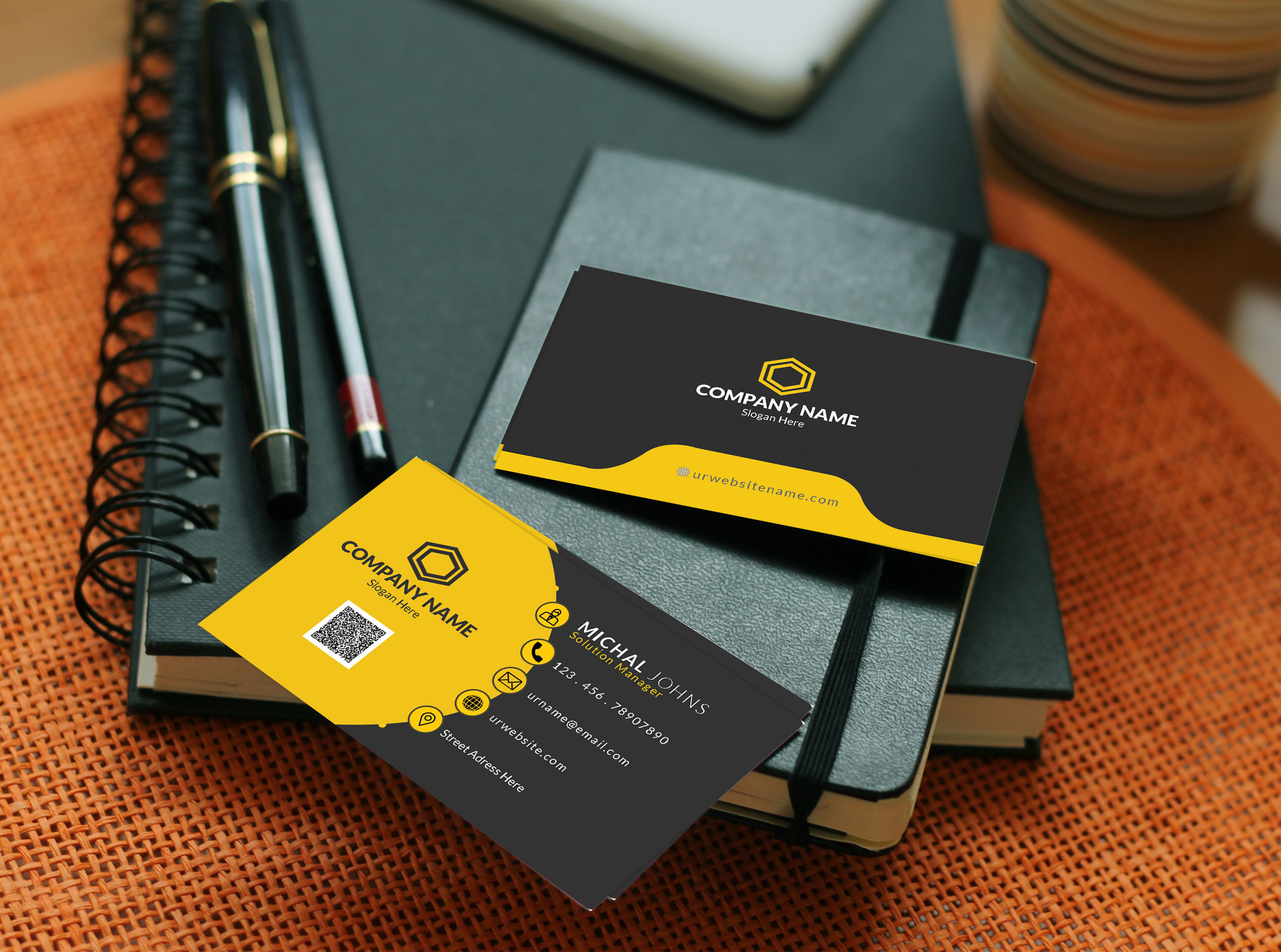 I will do professional,  unique business card and stationery design