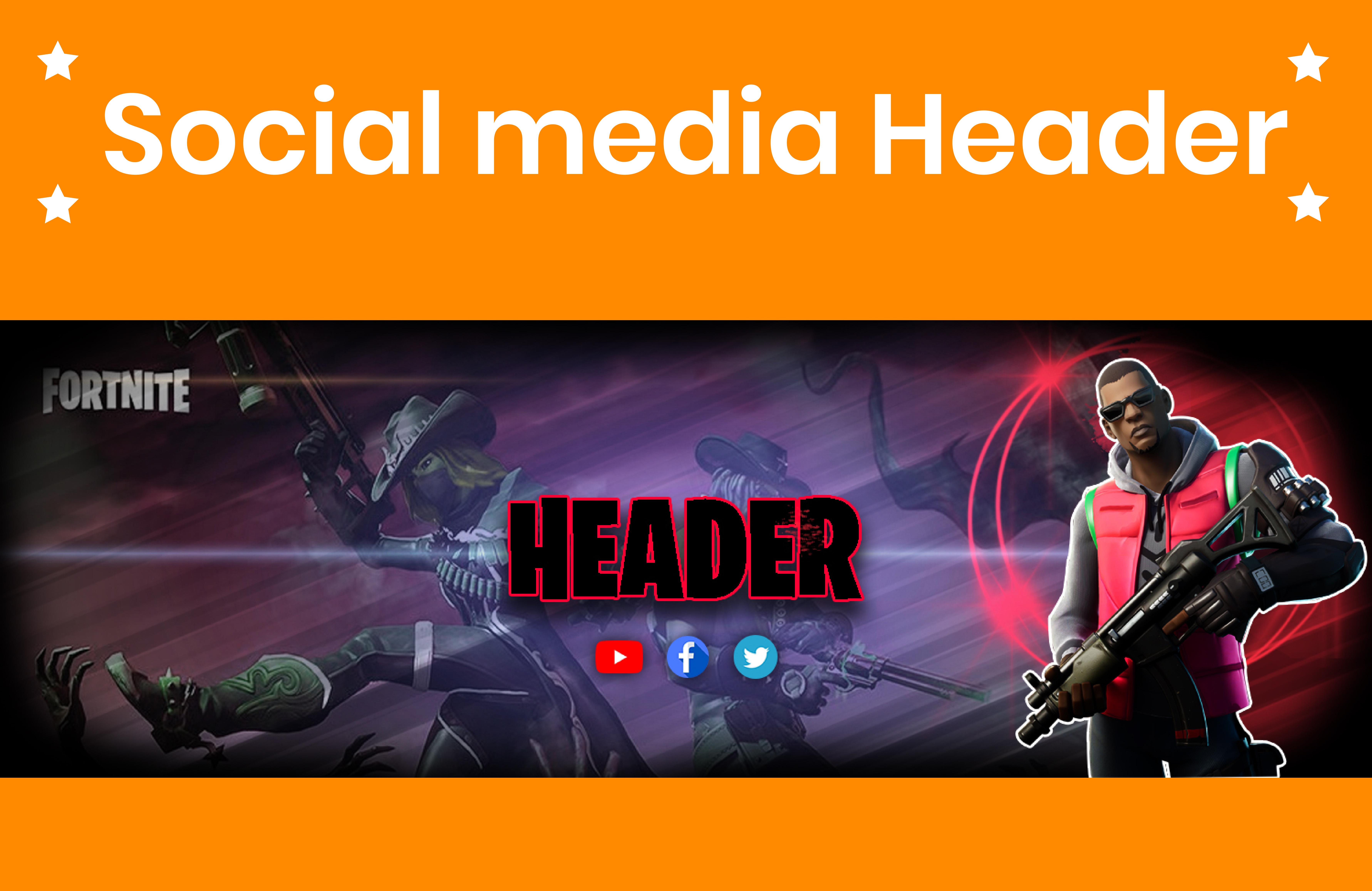 I will design stunning Facebook cover, header, or social media cover