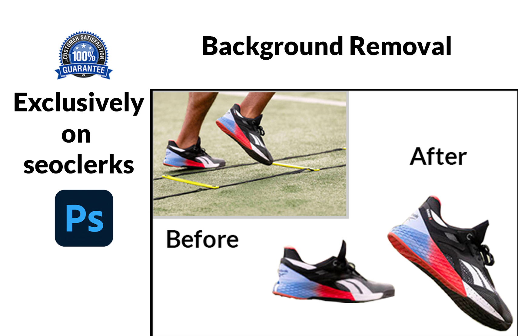 I will do amazon product background removal at a low price